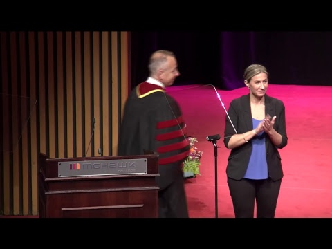 Mohawk Convocation 2018 - Marshall School of Skilled Trades and Apprenticeship
