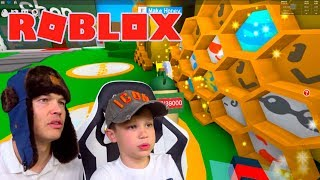 Собираем МЕД в Roblox Bee Swarm Simulator