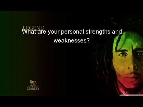What are your personal strengths and weaknesses? - YouTube