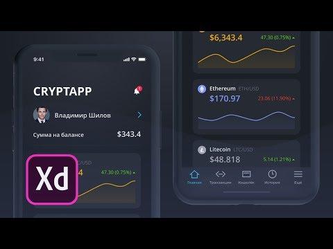 Уроки UX/UI | 1 из 2 | Дизайн мобильного приложения iOS в Adobe XD