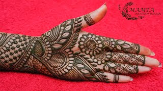 Latest New Style Mehndi Designs 2021   Mehndi Designs for Front Hand