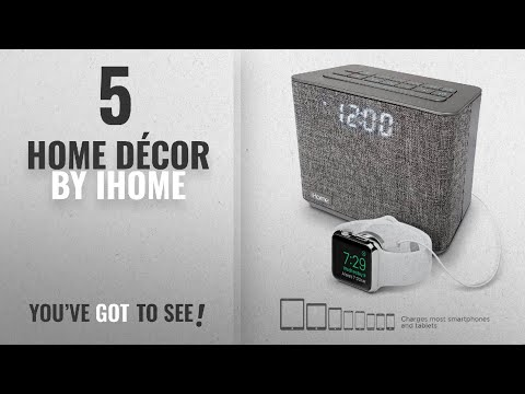 Top 10 Home Décor By Ihome [ Winter 2018 ]: iHome iBT232 Bluetooth Dual Alarm FM Clock Radio with