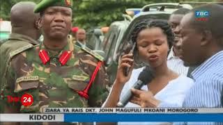 Breaking News: Rais Magufuli akimpigia simu Prof. Kitila Mkumbo mbele ya wananchi, atoa maagizo