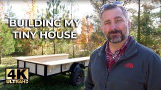 Gambar cover How I BUILT a TINY HOUSE   ⭐️4K Video ⭐️