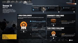 Ghost Recon Wildlands Season 10 Week 1 Solo Challenge 1