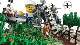 AT-OT CUSTOM MOC | LEGO STAR WARS