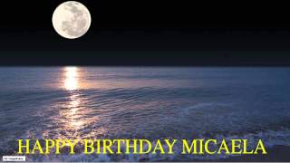 Micaela  Moon La Luna - Happy Birthday