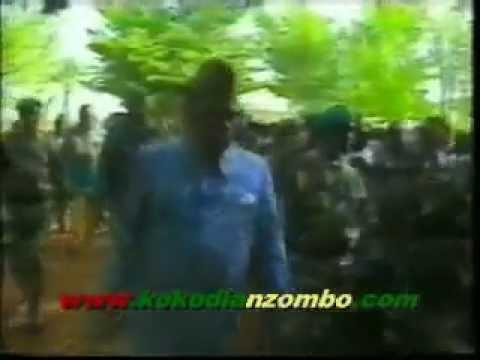 Mobutu parle de Simon Kimbangu