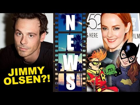 Scoot McNairy is Jimmy Olsen?! Jena Malone is Barbara Gordon?! - Beyond The Trailer