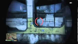 Gta 5 sniper stealth mode