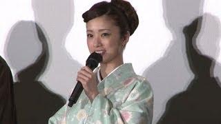 女優の上戸彩さんが11月2日、東京・丸の内の丸ビルで行われた食の祭典「...