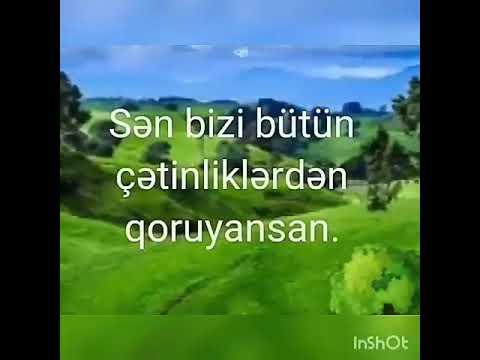 👐ALLAHIM, SƏN KÖMƏK OL👐Dini statuslar/Dini sözlər/Status üçün video/