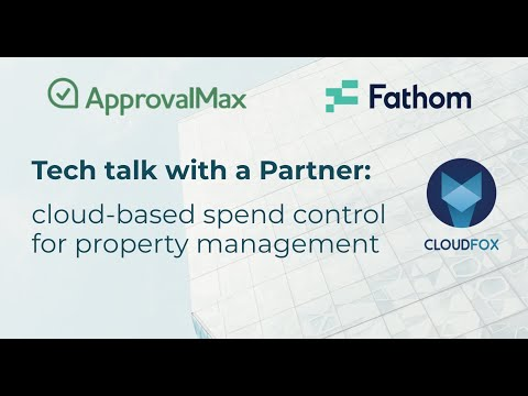 Tech talk with a Partner: cloud-based spend control for property management