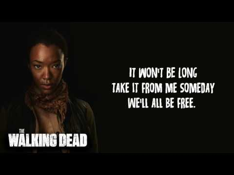 Donny Hathaway - Someday we'll all be free Lyrics (The Walking Dead S07 E16 Sasha Song)