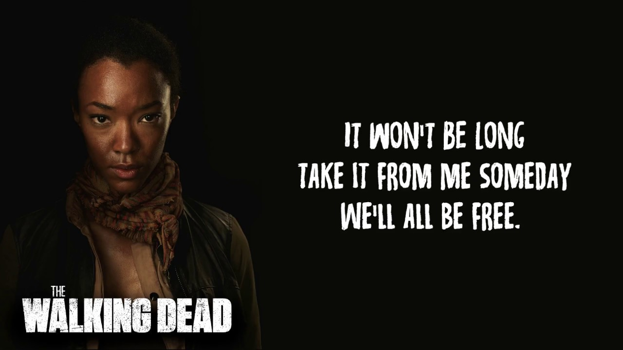 Donny Hathaway Someday We Ll All Be Free Lyrics The Walking Dead S07 E16 Sasha Song Youtube