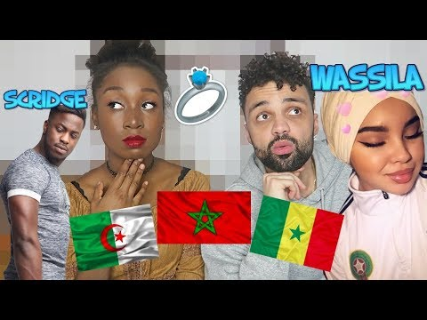 DJ Kayz Ft. Wassila, Scridge - Jour J (RACISME COUPLE MIXTE ARABE/NOIR)
