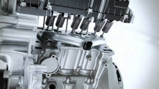 Ford 1-Liter Eco Boost Motor - Animation Funktionsweise