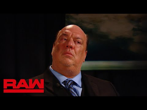 Unaired final moment of Paul Heyman's Raw interview: Raw Exclusive, Aug. 7, 2018