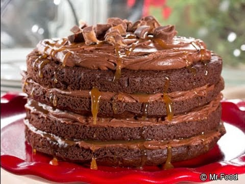Tall, Dark, and Handsome Cake
