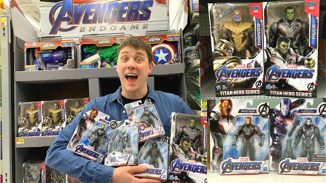 New Avengers Endgame Whole Collection Found At Walmart
