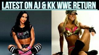 Latest on AJ Lee, Kelly Kelly & The Rock