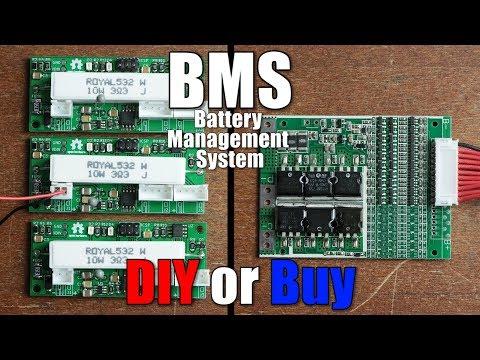 BMS (Battery Management System) || DIY or Buy || Properly protecting Li-Ion/Li-Po Battery Packs