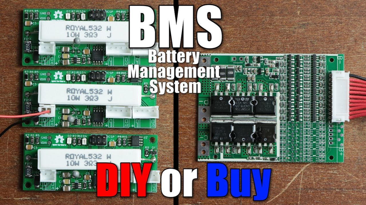 Bms Battery Management System Diy Or Buy Properly Protecting