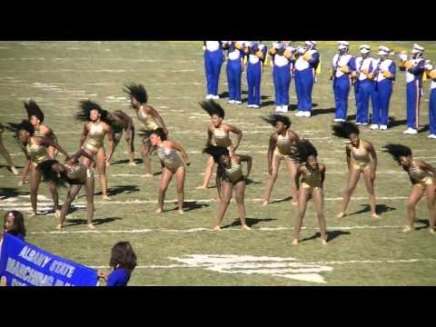 Albany State's Half Time Show   Fountain City Classic 2011