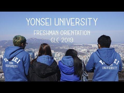 Yonsei University Orientation For International Students💙