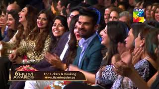 Most Entertaining Comic Performance Ahmed Ali Butt Kashmir 6th HUM Awards 2018