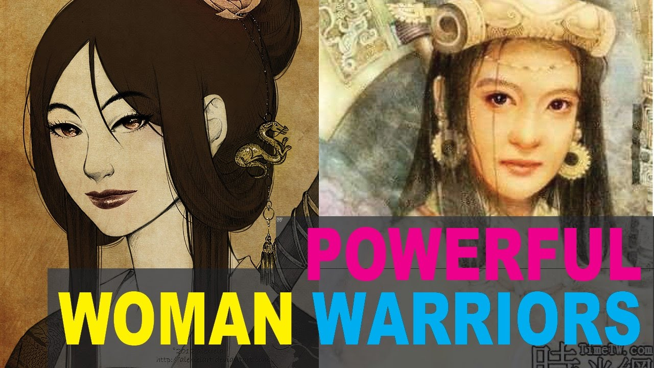 6 most feared female warriors in chinese history youtube