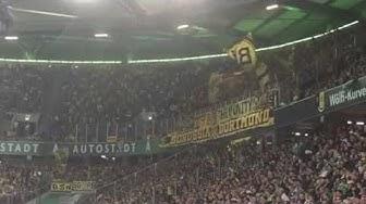 BVB-Fans in Wolfsburg + Kuba in die Kurve 20.09.16