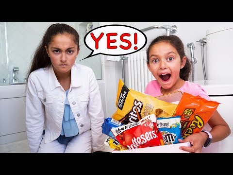 SIS CAN'T SAY NO FOR 24 HOUR CHALLENGE!!