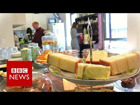 Would you pay '6p a minute' to be in a cafe? BBC News