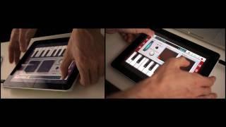 NanoStudio with iPad