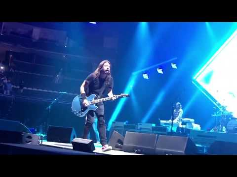 Foo Fighters  71918 Pittsburgh Pa  PPG Paints Arena First 7 songs