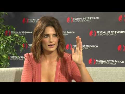 Stana Katic Interview - 2017 Monte Carlo TV Festival