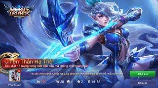 Mobile Legends: Bang Bang - Đấu Rank Xạ Thủ Miya Skill Cung Tên Rực Cháy Đạt Chiến Thần Hạ Thế