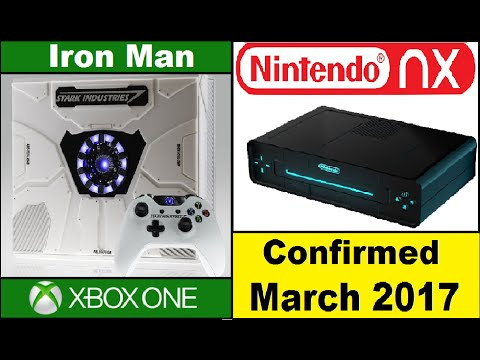 Nintendo NX Launching March 2017. Xbox One Iron Man Edition Console.Call of Duty: Infinite Warfare