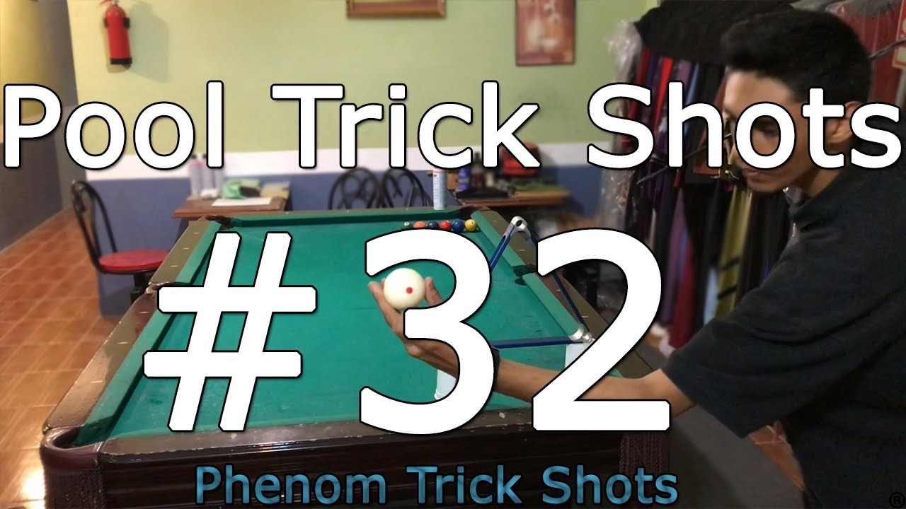 Pool Trick Shots #32 | Phenom Trick Shots