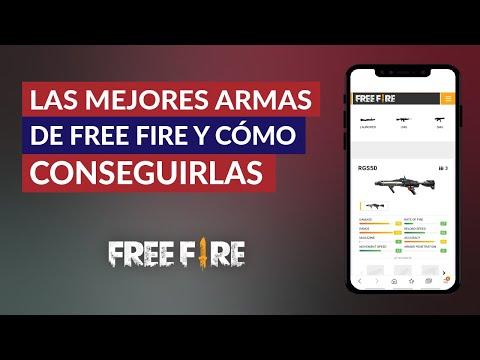 Cuáles son las Mejores Armas de Garena Free Fire y Cómo Conseguirlas