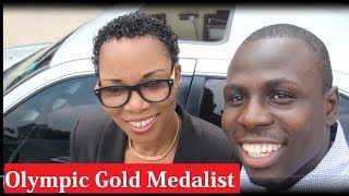 Vlog With First Olympic Gold Medalist | Chioma Ajunwa | Lagos Nigeria