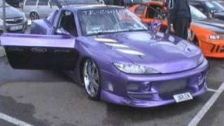 "Engine Galaxy - Nissan 200sx ""MANIAC"" And Honda Prelude ""DREADFUL"" Extreme Styling!"