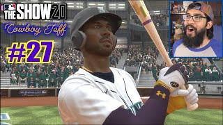 KOBE BRYANT'S BEST GAME IN THE BIG LEAGUES! | MLB The Show 20 | Road to the Show #27