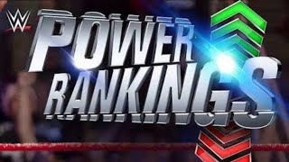Powe Rankings in WWE 26 August 2018 ROMAN EMPIRE