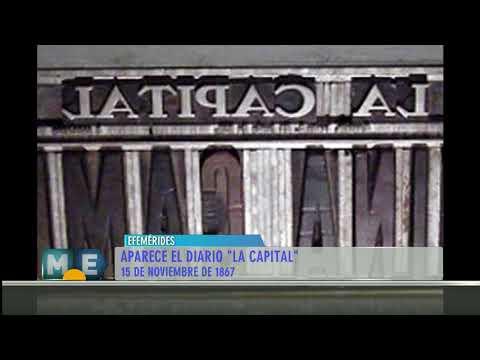 150 aniversario del Diario La Capital #Efemérides #15deNoviembre