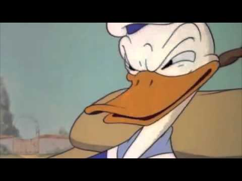 "Clip from Donald Duck ""Self Control"" 1938"