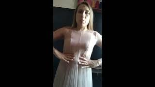 Снятие мерок. Часть 1. Платье.