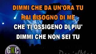 Umberto Tozzi Tu versione originale karaoke instrumental
