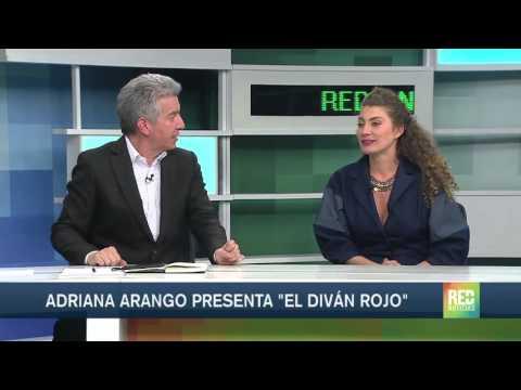 Adriana Arango presenta 'El Diván Rojo'